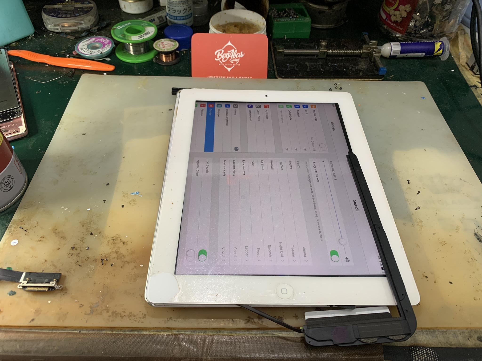 Speaker iPad 3 Tak Ada Bunyi